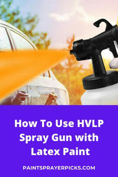 HVLP systems are not designed to spray heavier bodied latex paint. However, with some understanding you can successfully do so. The viscosity (thickness) of latex paint makes it hard for spray guns to fully atomize the paint, meaning that it's difficult with a lower pressure turbine unit to break the material up into small enough particles to get an ultra smooth surface. Hvlp Paint Sprayer, Best Paint Sprayer, Painting Kitchen Cabinets, Kitchen Paint, Paint Meaning, Finishing Materials, Cool Paintings, Being Used, Cool Furniture