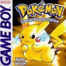 Pokemon Pikachu Yellow - Game Boy Game