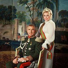 Zsa Zsa Gabor & her husband