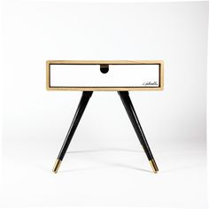 Kenji Bedside Nightstand Table de chevet