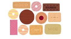 illustration of biscuits
