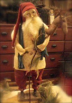 great primitive santa!