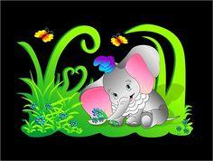 Slon, Slůně, Baby, Dítě