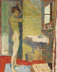 Pierre Bonnard - Morning Toilet, ca. Pierre Bonnard, Figure Painting, Figure Drawing, Painting & Drawing, Illustration Art, Illustrations, Impressionist Paintings, Fine Art, Erotic Art