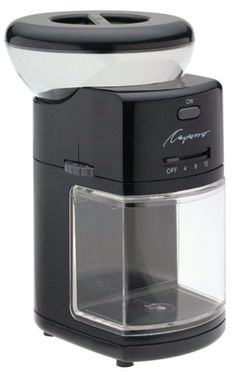Capresso 55101 Burr Coffee Grinder Black -- Click on the image for additional details.