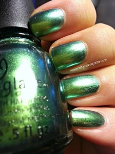 "China Glaze ""Unpredictable""- my last purchase of the day :)"