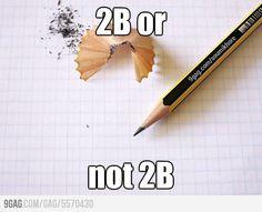 Such a dilemma :)