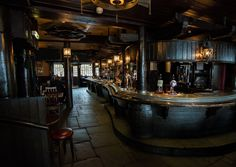 """""""The Devil's Tavern"""" Owned by Bar and Buck. A haunt for the pirates- and it is /never/ this empty."""