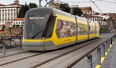 Metro do Porto is adding support for contactless payments to its metro and tram services from the second quarter of Train Service, Bank Card, Portugal, Public Transport, Two By Two, Ads, People People, Regional, Portuguese