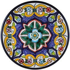 Talavera Salad Plate Pattern 66 Online Discount TH066B