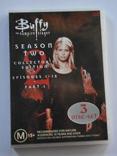 Image result for buffy season 2 part 1 dvd