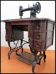 Sewing Machine WHITEROTARY 工業用アメリカアンティークミシン足踏みミシン インテリア 雑貨 家具 Antique ¥80000yen 〆07月10日