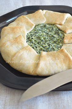 Torta ricotta e spinaci (senza uova) - Ricetta