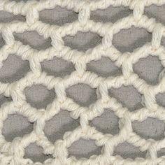 My Tunisian Crochet: Tunisian Rope Mesh