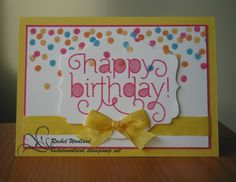 Stampin Up Dotty angles and Age Awareness rachelwoollard@stampinup.net.au