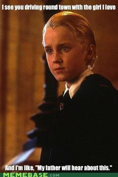 Ermahgerd...I laughed so hard at this. XD I freakin' love Draco, though!