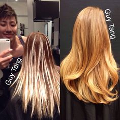 What do you call #balayage? #Hairpainting? Do you prefer foils? Tell me what method you use most and what do you want to get better at?! #guytang
