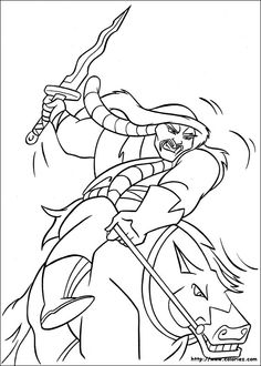 coloring pages for kids coloriage mulan