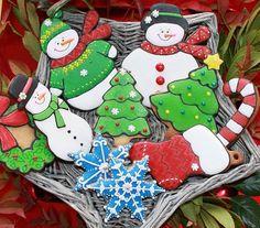Winter Cookie Platter