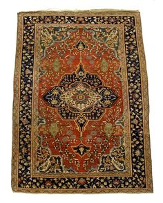 Sarouk Fereghan rug   north persia, circa first quarter 20th century    6 ft. 2 in. x 4 ft. 6 in.  - FREEMAN'S