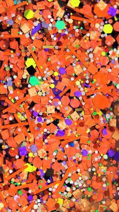 Glitter, Sparkle, Glow - iphone wallpaper orange