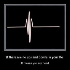 appreciate the ups and the downs in life. yes, the downs too. for without downs, there would be no ups Great Quotes, Me Quotes, Funny Quotes, Inspiring Quotes, Funny Memes, It's Funny, Nice Quotes About Life, Daily Qoutes, Motivational Photos