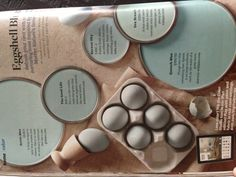 Eggshell Blues From Better Homes and Gardens magazine (may 2013, page 36)