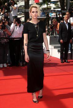 "Kristen Stewart at the screening for ""American Honey."""