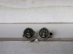 Crown Cufflinks or Tie Tack Crown Vintage by BijottiCiciotti