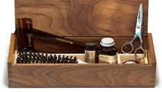 Beardbrand Beardsman`s Grooming Kit - Tree Ranger Unique Gifts For Dad, Unique Birthday Gifts, Unusual Gifts, Beard Grooming Kits, Glass Curtain Wall, Straight Razor Shaving, Stocking Stuffers For Men, Cut The Ropes, Just Friends