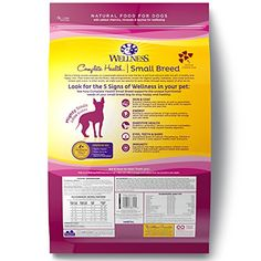 Wellness Complete Health Natural Dry  Small Breed Dog Food, Turkey & Oatmeal, 12-Pound Bag   Check it out-->  https://mypets.us/product/wellness-complete-health-natural-dry-small-breed-dog-food-turkey-oatmeal-12-pound-bag/  #pet #food #bed #supplies