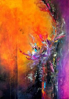 """Obtain fantastic pointers on """"abstract art paintings acrylics"""". Abstract Canvas Art, Acrylic Art, Motif Art Deco, Action Painting, Painting Inspiration, Amazing Art, Watercolor Art, Modern Art, Art Drawings"""