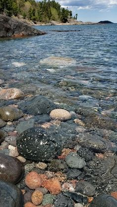 Crystal clear Lake superior waters shown here at the base of Sugar Loaf Mountain, Marquette MI, Upper Peninsula of Michigan USA Beautiful Photos Of Nature, Beautiful Nature Wallpaper, Beautiful Landscapes, Beautiful World, Beautiful Places, Michigan Usa, Michigan Travel, Winter Pictures, Nature Pictures