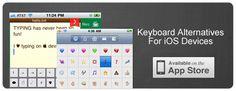 Free Alternative Keyboard Apps for iOS
