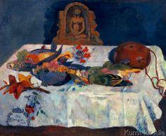 Paul Gauguin - Stilleben mit Papageien (80,0 x 66,0 cm)
