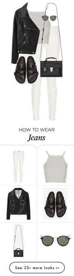 Outfits with jeans. Crop Top Outfits, Jean Outfits, Fall Outfits, Cute Outfits, Fashion Outfits, Womens Fashion, Summer School Outfits, College Outfits, Birkenstock Outfit