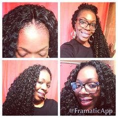Crochet Hair Pulled Up : ... on Pinterest Crochet braids, Protective styles and Marley hair