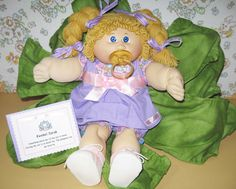 Cabbage Patch Girl by asterdaisy on Etsy, $30.00