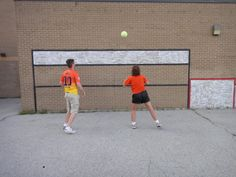 Playing some volleyball at St. Francis in Markham   Use #GETACTIVEnPLAY and share your Sports Wall moments