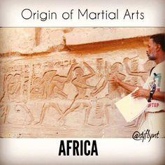 Origin of Martial Arts.