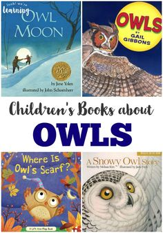 These owl books for kids feature gorgeous pictures and illustrations for learning about these nocturnal flyers! Read a few for a fun fall learning activity! Owl Books, Animal Books, Autumn Activities For Kids, Learning Activities, Books For Boys, Childrens Books, Best Books List, Book Lists, Read Aloud Books