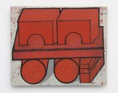 4 Mario De Brabandere - Compositie met houten bouwblokken - 2011 - No. 9 - 50 x 61 cm