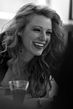 Blake laughing beauty <3