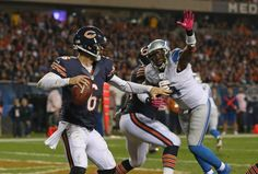 Chicago Bears were down 19-7 going into the 4th quarter and came back and won over the Carolina Panthers 23-22. Bears are now 6 -1. What a game!