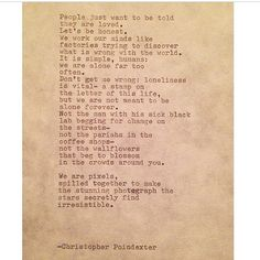 The Universe and Her, and I #181 written by Christopher Poindexter