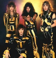 Funny 80s rock bands