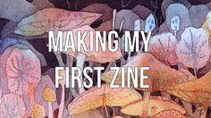 Making my first zine! (Skillshare class!) - YouTube