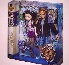 fd0a6cd3994 Ever After High Couple: Raven Queen Daughter of The Evil Queen and Dexter  Charming Son