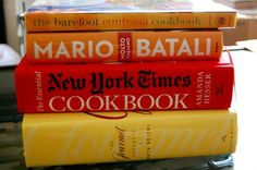 "Two of my favorites in this pile, New York Times, look for ""Montes Ham"", and Gourmet, look at everything."