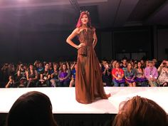 "Her Universe Fashion Show - SDCC 15 #SDCCgeekcouture | ""I Am Groot"" gown by Emily Ong"